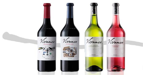 Etiquetas de vino de Vivanco