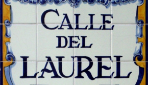calle-laurel-placa