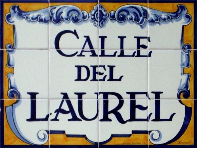 calle-laurel-placa