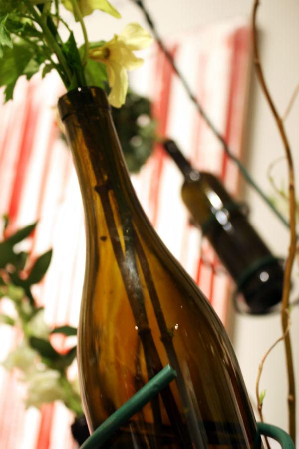 jarron botella vidrio