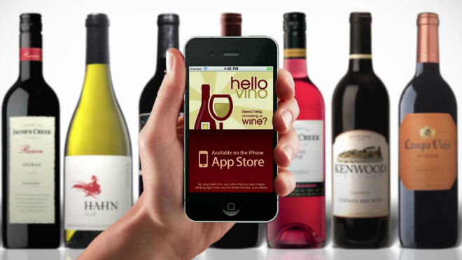 hello vino app movil