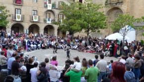 jornadas medievales pelea briones