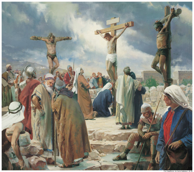 crucifixion jesus harry anderson
