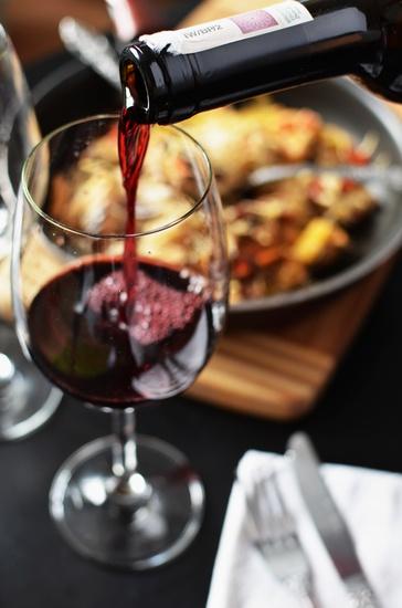 garrafa de vinho emparelhamento de vidro