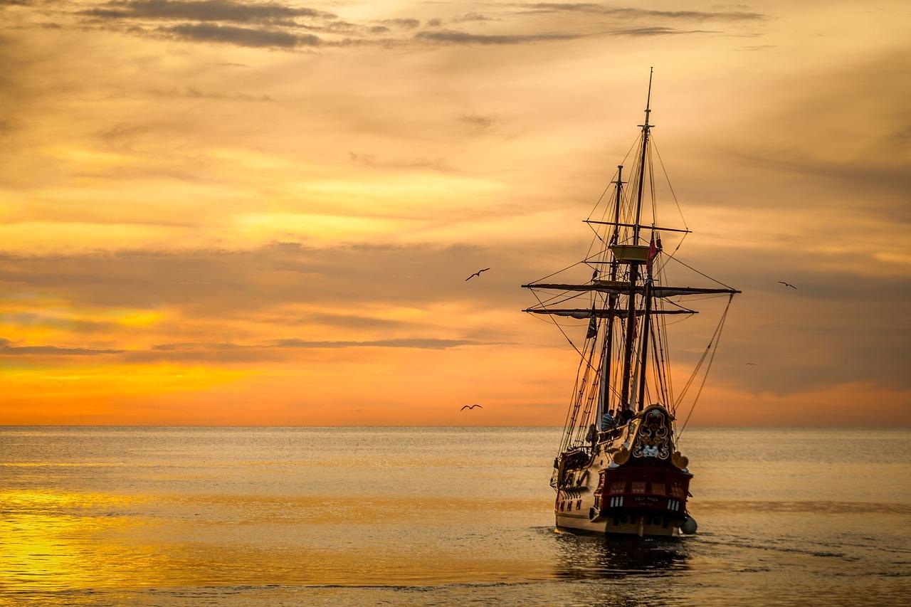 sunset-boat