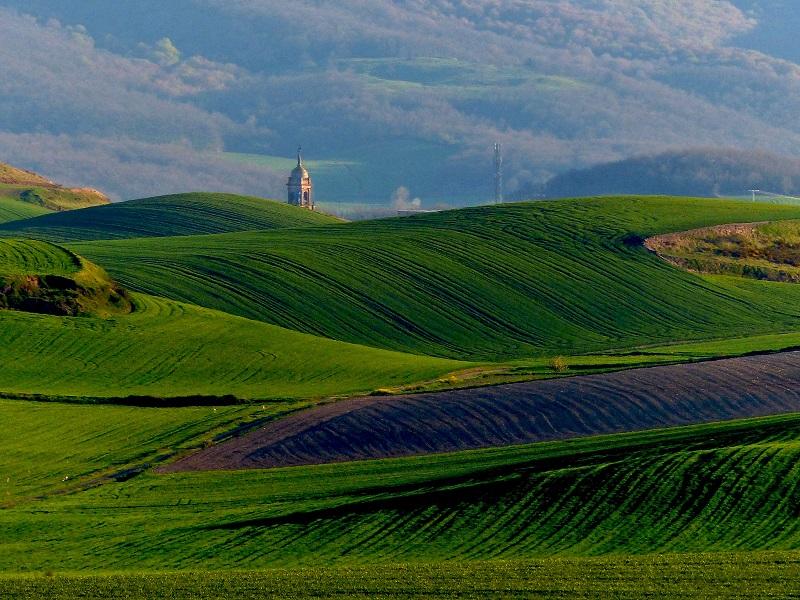 campo verde paisaje rioja