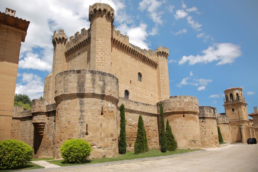 castillo sajazarra fachada