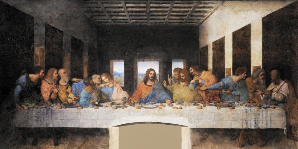 cuadro ultima cena da vincci