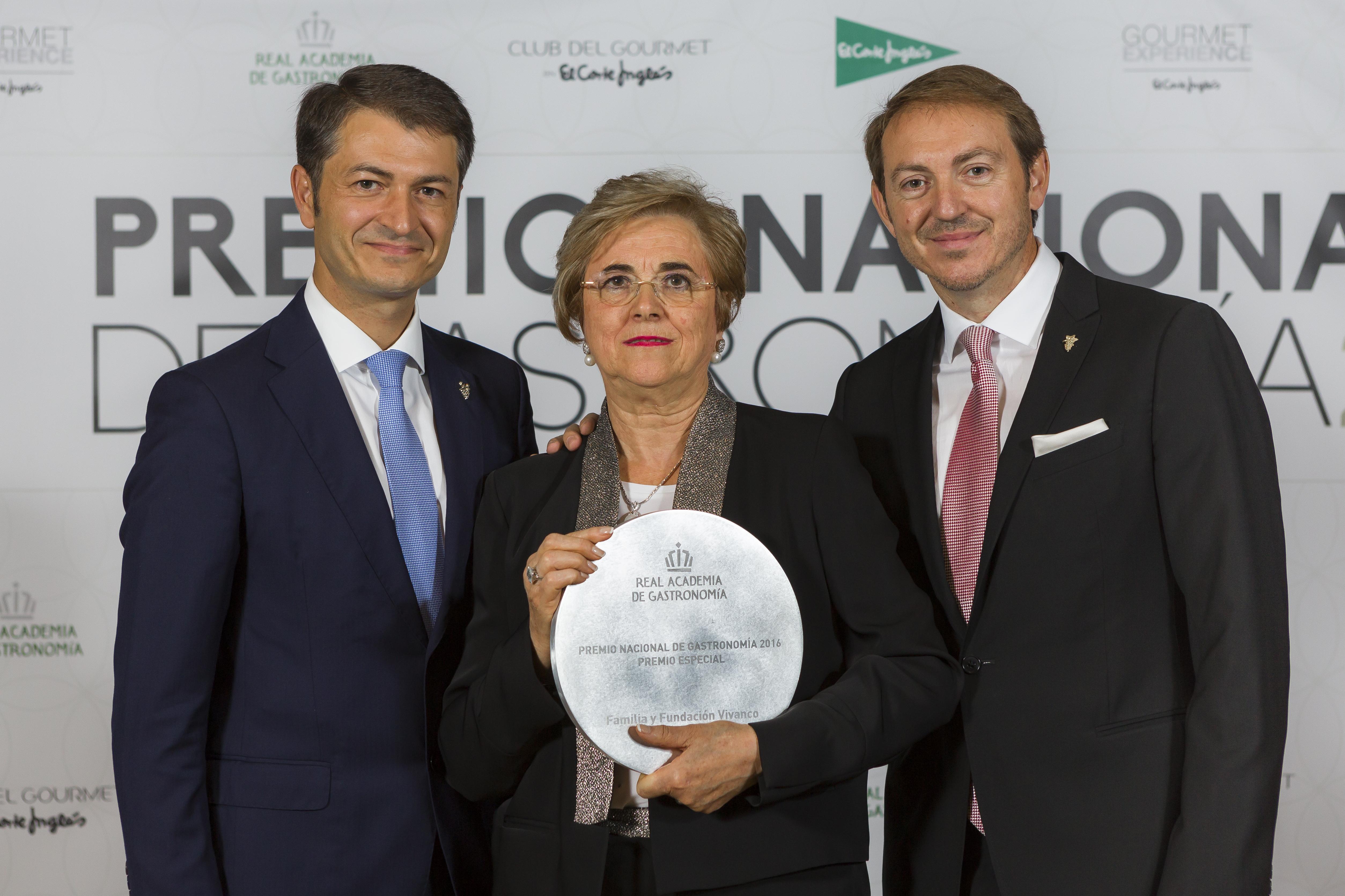familia vivanco premio nacional gastronomia