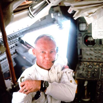 Buzz Aldrin en 1969