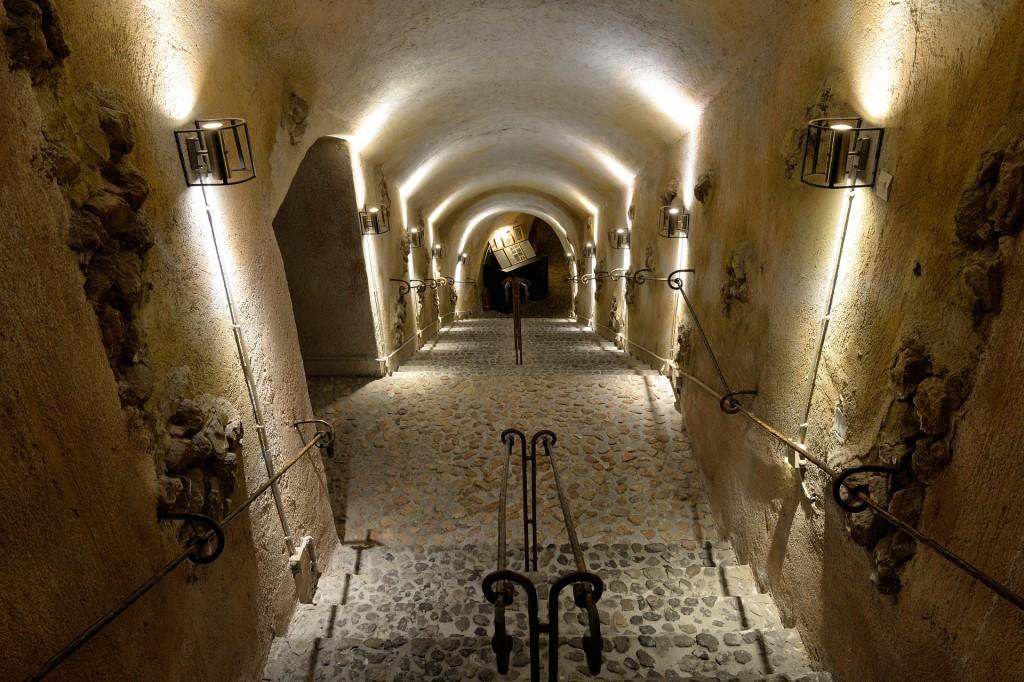 entrada museo santorini vino