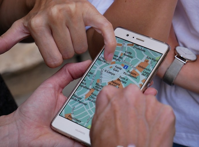 app viajes mapa turismo