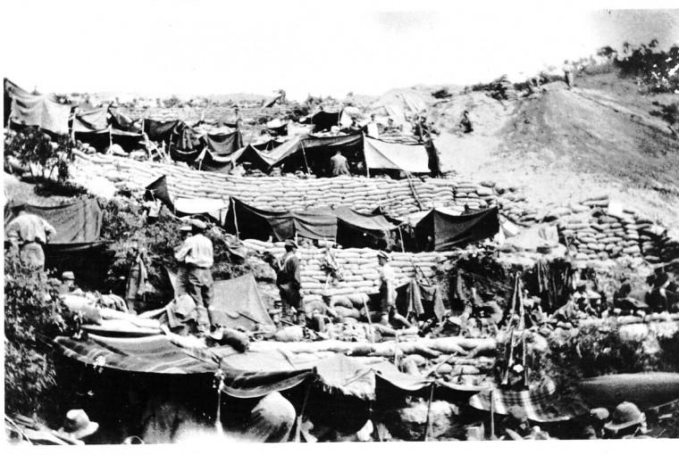 Soldados de la ANZAC en Galípoli