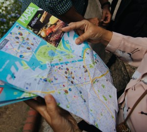 mapa manos mujer
