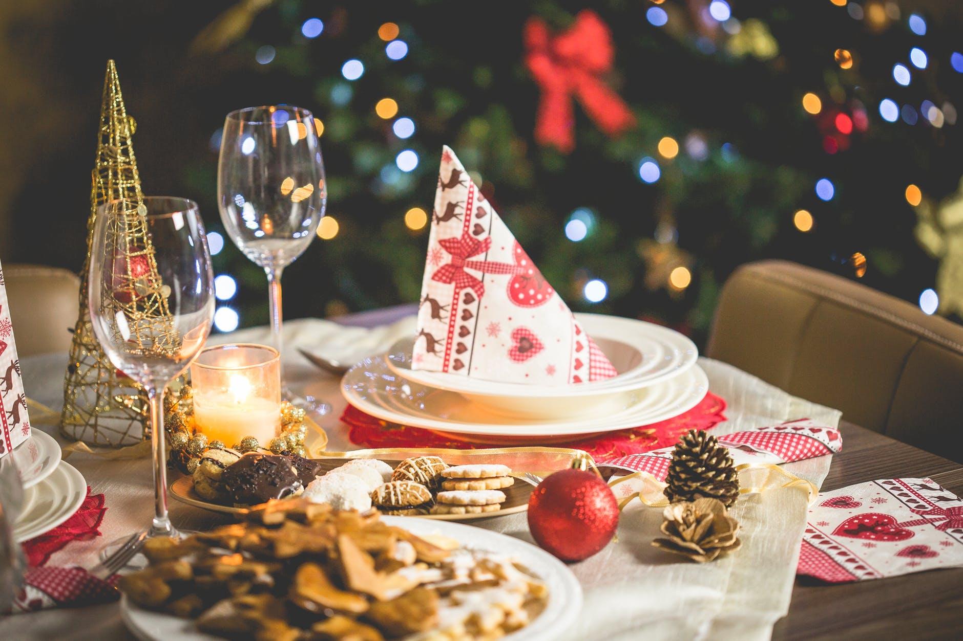 mesa galletas navidad