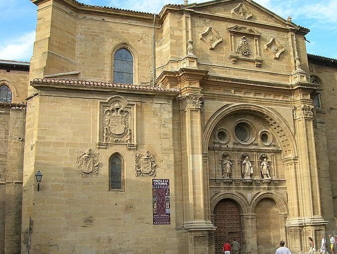 Fachada principal de la catedral de Santo Domingo de la Calzada. Foto: José Antonio Gil Martínez