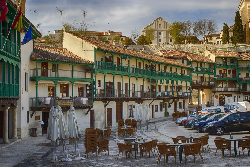 chinchon pueblo madrid