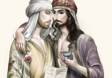 Abu Nuwas ilustracion
