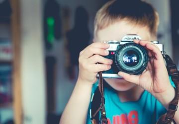 niño fotografía