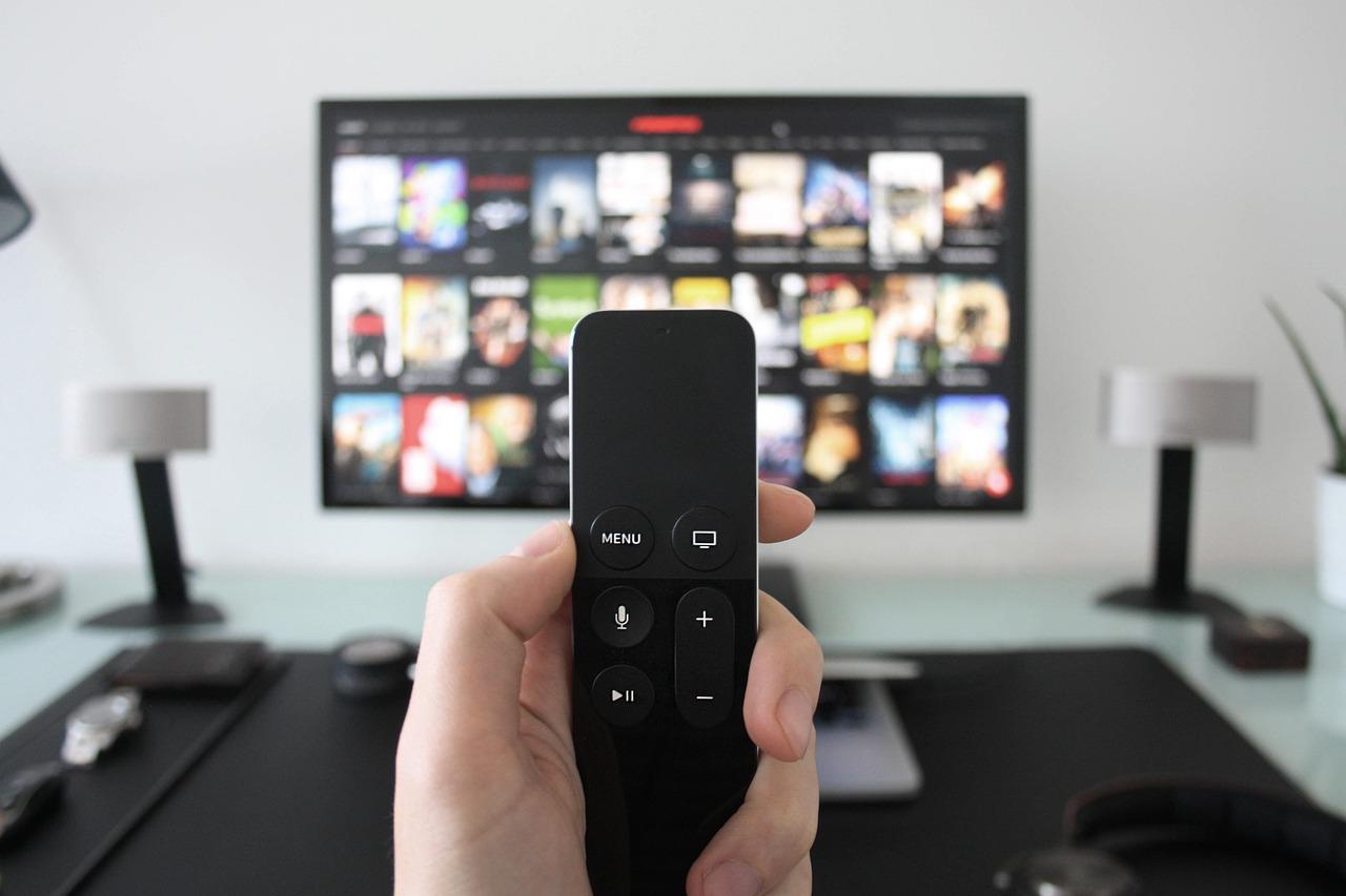 television mando distancia
