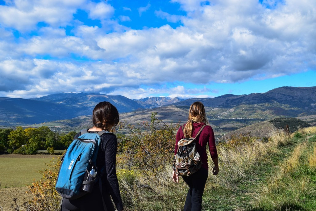 trekking senderismo campo