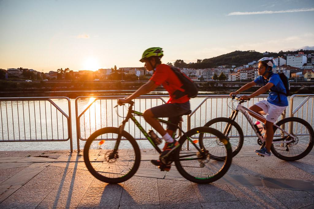 La bicicleta es una forma fácil de viajar barato
