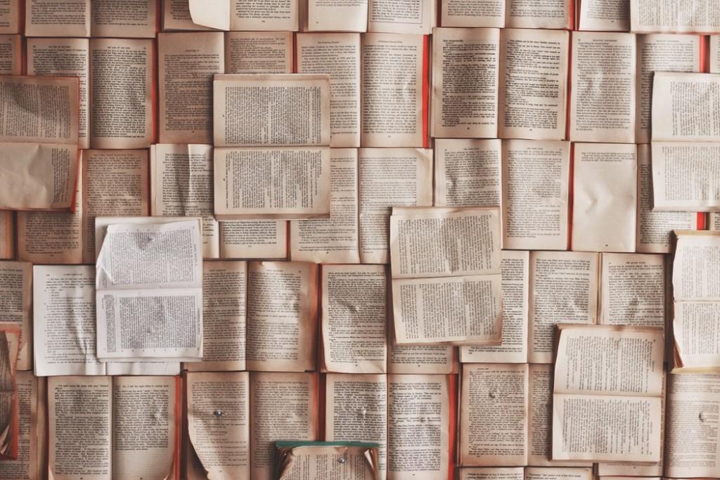libros abiertos hojas