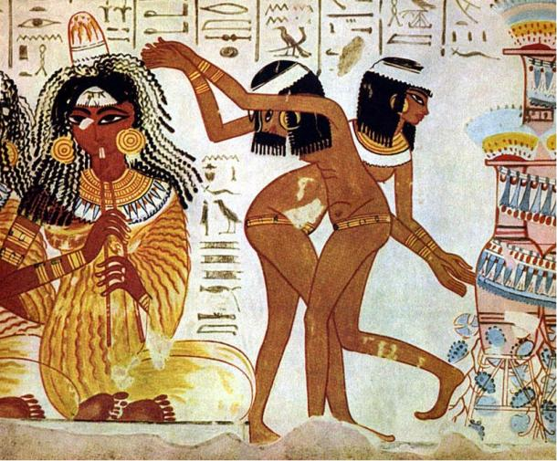 Fiesta Borrachos Egipto